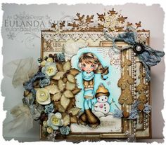 "Cards and More Cards: Live and Love Crafts ""Ice"""