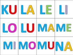Sílabas directas Language, Logos, Editable, Eliana, Myla, Literacy Activities, Read Box, Abc Centers, Teaching Reading