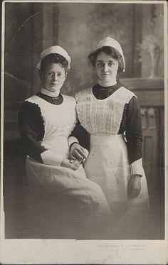 Two Maids, Liverpool, circa 1900