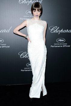 Coco Rocha Cualquier prenda en Coco Rocha se impregna de esa estética años 20's tan sofisticada y sensual. Para la fiesta de Chopard –su primera noche en el festival galo, según afirmaba en redes– Coco escogió un vestido de la diseñadora Gabriela Cadena.