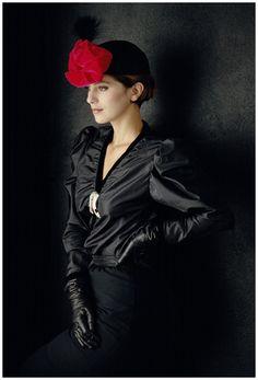 Vogue Italy (Anastasia), 1983 @vintageclothin.com