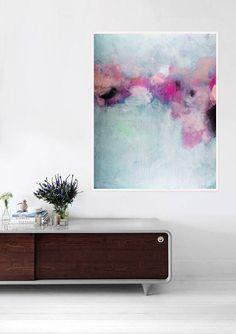 abstrakte Malerei-Acryl-Malerei abstrakte Kunst Leinwand Kunst #abstractart
