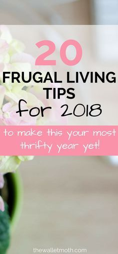20 Must-Try Frugal Living Tips for This post is AWESOME if you want to start saving money in These frugal living hacks will show you how to save money, live frugally, and get your budget on track for your BEST year yet! Ways To Save Money, Money Tips, Money Saving Tips, Money Budget, Groceries Budget, Mo Money, Money Fast, Earn Money, Frugal Living Tips