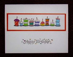 happpy birthday by hannie biggles - Cards and Paper Crafts at Splitcoaststampers