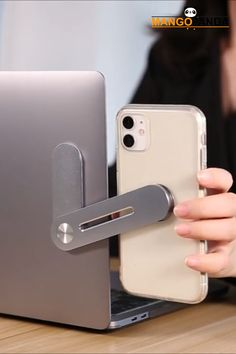 This smart device holder is so cool! It instantly gives you dual screen experience by holding your smartphone on your laptop. It is the most convenient smartphone holder for office and even for work from home! It also helps in reducing work fatigue and stress.