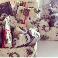 1 december 48 pakker 24 til hver af mine sønner og min svigerdatter  60❤️
