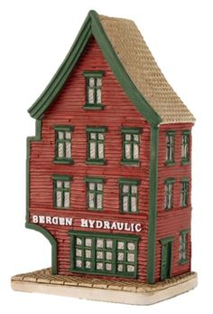 "Bryggen I Bergen, ""Hydraulic"" - Lillesand Design AS Miniature Houses, Norway, Holiday Decor, Handmade, Design, Home Decor, Hand Made, Decoration Home, Room Decor"