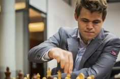 Magnus Carlsen in Memorial Tal 2013 - Follow on http://www.chess-and-strategy.com/