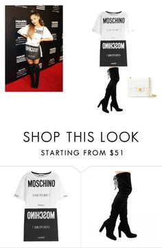 """""""ari style"""" by alexandramaticiuc-1 on Polyvore featuring Moschino and Chanel"""