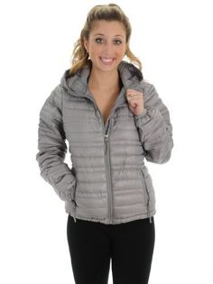 Silver Down Jacket Glacier Shield Weather Resistant Lightweight Womens Warm Coats CB Sports CB Sports. $52.99