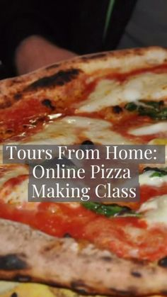 Part of our Tours From Home online experiences, join our Italian chefs will work alongside you, giving you the most essential (but often overlooked!) tips to making pizza. A great activity for families, couples, and children alike. Check out our schedule for the next class.