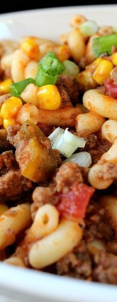 Spicy Southwest Goulash - Great Grub, Delicious Treats