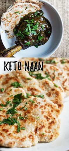 Ketogenic Diet, Our Low Carb Naan is easy and quick to make for your next indian dinner!