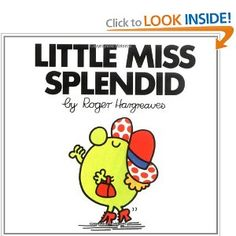 Little Miss Splendid by Roger Hargreaves - Penguin Putnam Inc - ISBN 10 0843178442 - ISBN 13 0843178442 - Preparing Little Miss Splendid by… Little Miss Books, Mr Men Little Miss, Mr Men Books, Why Do People, Every Day Book, Book Summaries, Best Selling Books, Social Issues, Book Recommendations