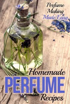 Learn how to make perfume the easy with with these Homemade Perfu… - Geschenken Selber Machen Essential Oil Perfume, Perfume Oils, Diy Savon, Homemade Perfume, Perfume Recipes, Perfume Making, Essential Oil Blends, Essential Oils, Homemade Beauty Products