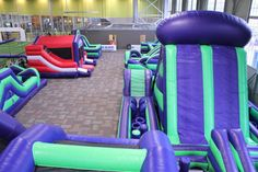 Arena Sports - Fun Zone Indoor Inflatable Playground