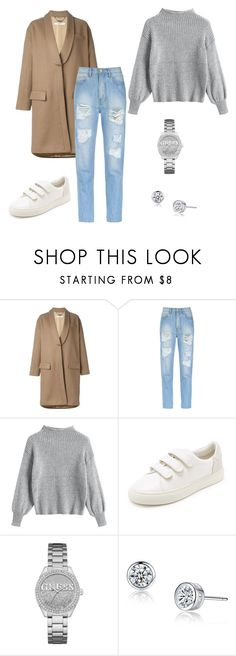 """Sporty outfit"" by eda-kunics on Polyvore featuring Givenchy, Amapô, Tory Burch and GUESS"