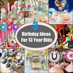 12 best 13 year old girl birthday party ideas images on pinterest
