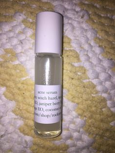 Acne serum by RockInnovations on Etsy Natural Oils For Skin, Natural Skin Care, Cystic Acne Treatment, Acne Treatments, Acne Serum, Acne Oil, Pimples Remedies, Home Remedies For Acne, Spot Treatment