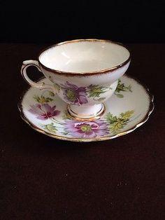 Rosina Bone China Tea Cup & Saucer
