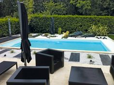 1000 images about piscine on pinterest piscine hors sol petite piscine and pools. Black Bedroom Furniture Sets. Home Design Ideas