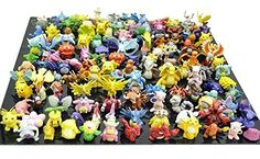 Discounted Generic Complete Set Pokemon Action Figures (144 Piece)