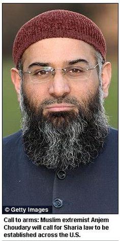 MAINSTREAM IMAM CHOUDARY COMING TO USA, CALLING ON MUSLIMS TO CREATE AMERICAN ISLAMIC STATE.