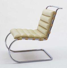 Ludwig Mies van der Rohe MR Lounge Chair (model 34) 1931