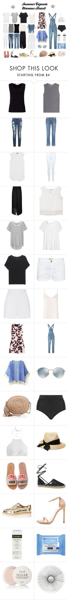 """my wish list for summer"" by jasmimestefany ❤ liked on Polyvore featuring John Lewis, T By Alexander Wang, Tommy Hilfiger, 3x1, Bassike, Miss Selfridge, MANGO, Splendid, Toast and True Religion"
