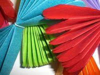 ENTRE MIM E VOCÊ - NÓS: PAPEL CREPOM - cores e formas