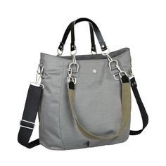 LÄSSIG Wickeltasche Green Label Mix 'n Match Bag anthracite