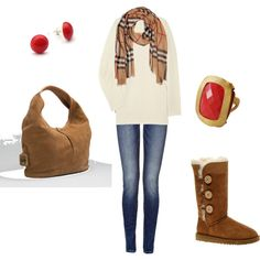 Cozy Comfy Winter Jeans Outfit