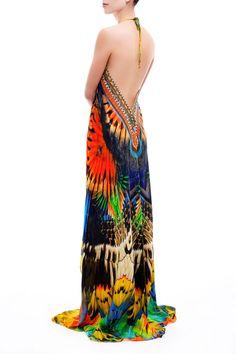 Shop Animal Print Embellished Designer Dresses Luxury Dresses BY SP