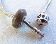 Petoskey stone Pandora charm...yes please! (kinda need the bracelet first, though ;O))