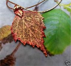 Items similar to Real Leaves Jewelry, Birch Leaf Necklace Pendant, Iridescent Copper, choice of chain on Etsy Leaf Necklace, Pendant Necklace, Drop Earrings, Leaf Jewelry, Unique Jewelry, Jewellery, Beautiful Forest, Leaf Pendant, Iridescent
