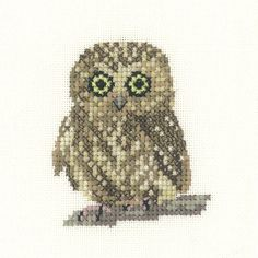 Owl | Heritage Crafts Counted Cross Stitch Kit                                                                                                                                                                                 More