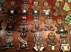My Home Made Naughty Gingerbread Men Cookies. [1045 x 779] [OC] - Imgur
