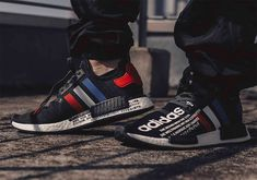 atmos Reimagines The 'OG' With A New adidas NMD Collaboration Adidas Nmd R1, Adidas Logo, Adidas Sneakers, Hype Shoes, The Vamps, New Trends, Adidas Originals, Collaboration, High Fashion