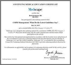 """COPD Management: What Do the Latest Guidelines Say? - #CME #GOLD #Guidelines #COPD #COPDFoundation """"COPD foundation"""""""