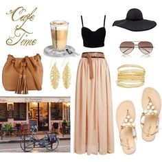 A fashion look from June 2014 featuring SELECTED tops, ALDO shoulder bags and Frette hats. Browse and shop related looks.