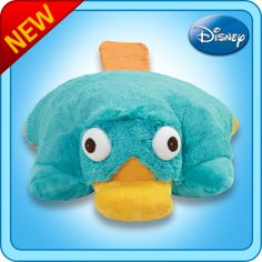 Perry the Platypus pillowpet.... WANT.