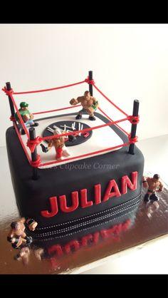 Wwe cake - wrestling cake