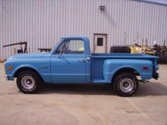 1971 Chevy C-10 Stepside Pickup 350 V8 Automatic ~ ♥