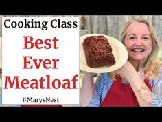 With this easy Homemade Meatloaf Recipe, you'll make the Best Meatloaf Ever—tasty, juicy, and doesn't crumble when you slice it.