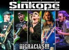 """Reseña del doble CD+DVD de SINKOPE """"¡¡¡Gracias!!!"""""""
