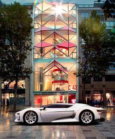 Citroen concept car paris motor show
