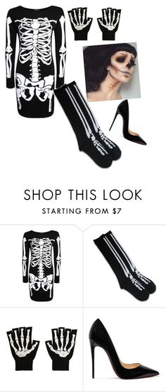 """""""Untitled #385"""" by outfits614 on Polyvore featuring Boohoo and Christian Louboutin"""