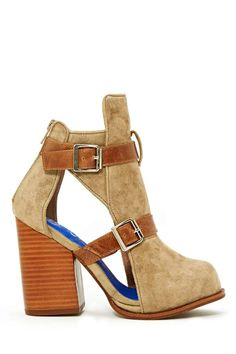 Jeffrey Campbell Brighton Bootie at Nasty Gal - I don't know why, but I really love these.