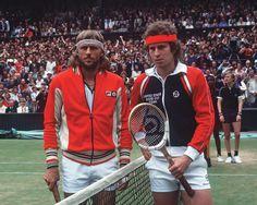 Björn Borg & John Mc Enroe, l'interview - toute l'information sur le tennis en France
