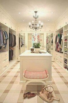 Preciso Desabafar: DecoraAí: Inspirações De Closet Femininos + Closet...
